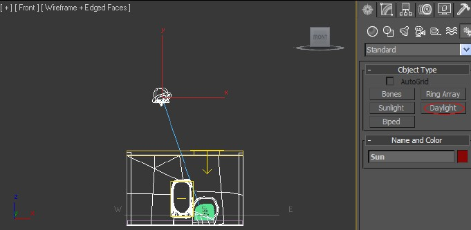 3ds Max Mental Ray Setting Up A Daylight Rig Lighting Definitions Artasmedia